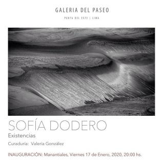 Sofía Dodero. Existencias
