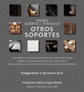Premio adquisición Alberto J. Trabucco. Otros Soportes