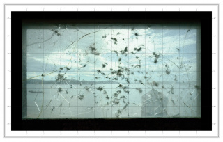 "Kiluanji Kia Henda, ""Bullet Proof Glass"" – Mappa Mundi (Caprera Island), 2019; Cortesia do artista"