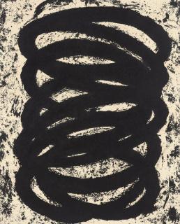Richard Serra — Cortesía de la galería La Caja Negra