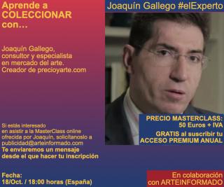 Aprende A COLECCIONAR con... Joaquín Gallego - MasterClass