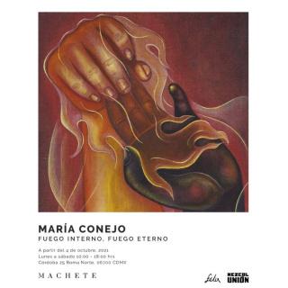 María Conejo. Fuego interno, fuego eterno