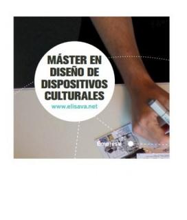 Master Diseño Dispositivos Culturales