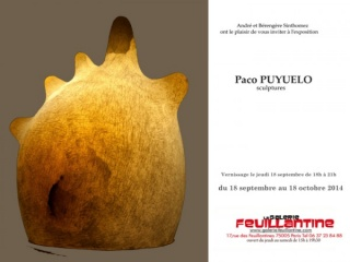 Paco Puyuelo sculptures