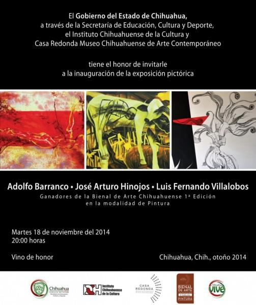 Adolfo Barranco | José Arturo Hinojos | Luis Fernando Villalobos