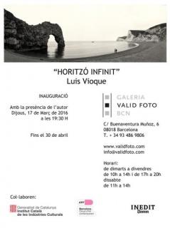 Luis Vioque, Horizonte infinito