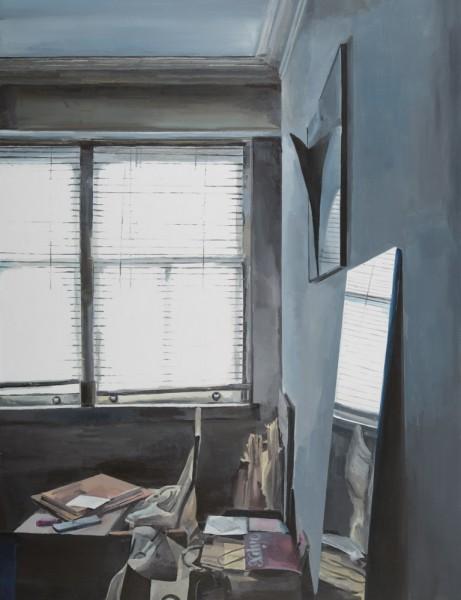 Lara Pintos - Sin Titulo - Acrilico sobre lienzo - 116.5x89.5 - 2015