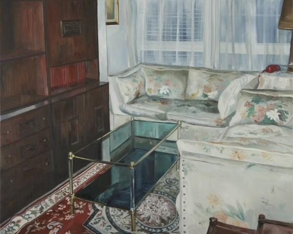 Lara Pintos - Sin titulo - Oleo sobre lienzo - 100x81cm - 2016