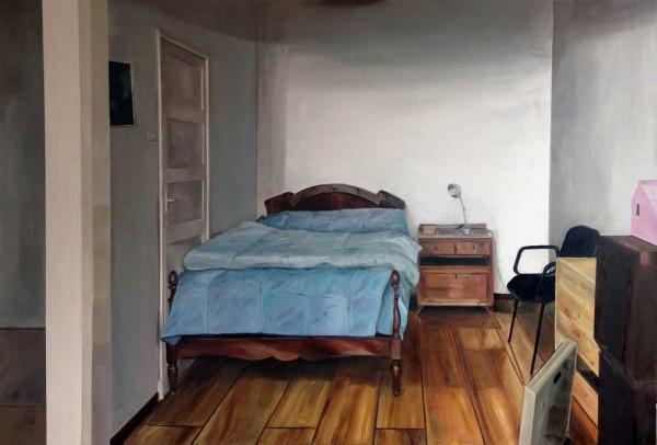 Lara Pintos - Sin titulo - Oleo sobre tabla - 130x89 - 2016