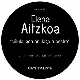 Elena Aitzkoa, Célula, gorrión, lago rupestre