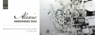 Workshop de técnica mixta sobre papel