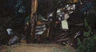 Obra 'Nocturno de Chile', de Benjamin Edwards. 2011. Colección MAC. Imagen cortesía Prensa MAC