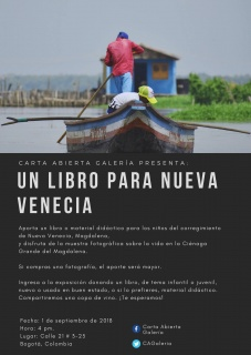Un libro para Nueva Venecia.