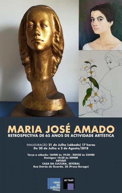 Maria José Amado. Retrospectiva de 65 años de actividade artística