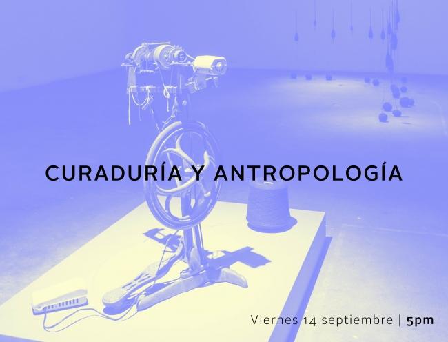 Curaduría y antropología. Imagen cortesía Espacio El Dorado
