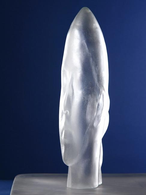 """Cristina's Frozen Dreams"" (2010), de Jaume Plensa"