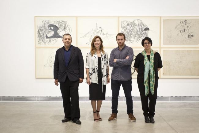 Presentación exposición de Nicolás Ortigosa - Cortesía Fundació Per Amor a l'Art - Centro de Arte Bombas Gens