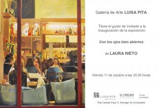 Laura Nieto. Con los ojos bien abiertos — Cortesía de la Galería de Arte Luisa Pita