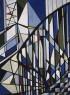 """Lygia Clark, Escalera (Escada), 1951. Óleo sobre lienzo, 100,4 x 74 cm. Acervo Museu de Arte Brasileira – MAB FAAP, São Paulo. Foto: Fernando Silveira © Cortesía Asociación Cultural """"The World of Lygia Clark""""— Cortesía Guggenheim Bilbao Museoa"""