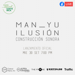 """Afiche de la obra """"Ilusión: Construcción Sonora"""""""
