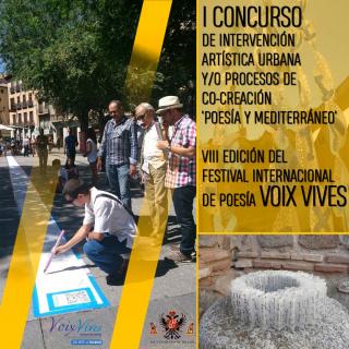 I Concurso de Intervención Plástica Urbana 'Poesía y Mediterráneo'