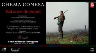 Chema Conesa, Retratos de papel