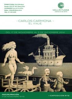 Carlos Carmona, El viaje