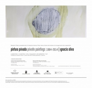 Pintura Privada Private Paintings 1984-2014 | Ignacio Oliva