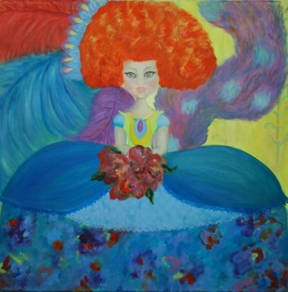 La Minina Leona por Tatiana Restrepo