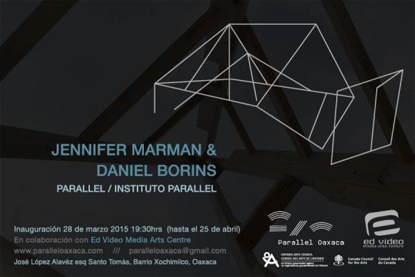 Jennifer Marman & Daniel Borins, Parallel / Instituto Parallel