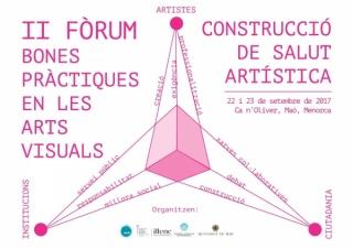 CONSTRUCCIÓ DE SALUT ARTÍSTICA - II FÒRUM BONES PRÀCTIQUES EN LES ARTS VISUALS