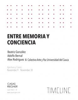 ENTRE MEMORIA Y CONCIENCIA. Imagen cortesía Casas Riegner