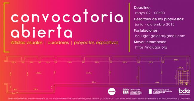 PROYECTOS EXPOSITIVOS 2018 EN NO LUGAR