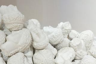 "Persisting Monuments. Cynthia Gutiérrez, ""Horizonte roto,"" [Broken Horizon] 2014, plaster and iron, dimensions variable. Courtesy of the artist and Proyecto Paralelo, Mexico City. Photograph ©LakeVerea"