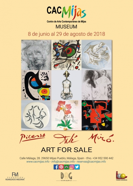 PICASSO, DALÍ Y MIRÓ, ART FOR SALE