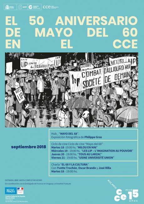 Mayo del 68. Imagen cortesía Prensa CCE