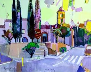 Abrera ( Barcelona ) Oleo sobre tela 81 x 100 cm.