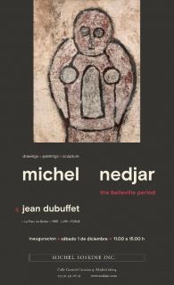 Michel Nedjar. The belleville period