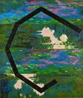 Geometrias II, 2017, Óleo s/ tela, 152x180 cm