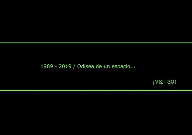 1989 - 2019 / Odisea de un espacio