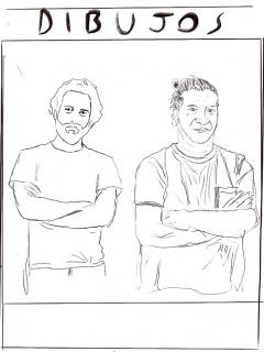 Alejandro Campins y Carlos Garaicoa | Design by Santi Garaicoa — Cortesía de Carlos Garaicoa