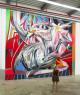 Trabajo mural de Mario Mankey — Cortesía de Swinton Gallery