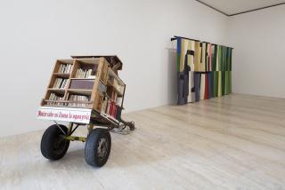 """Installation view """"Normal Exceptions: Contemporary Art in Mexico"""", Museo Jumex, 2021. Photo: Ramiro Chaves — Cortesía de la galería OMR"""