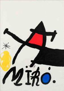 Joan Miro?, Paris Ma?t, 1971. Courtesy © Successi Mir ADAGP, Paris and DACS London 2021. Courtesy Galerie Lelong & Co. Paris