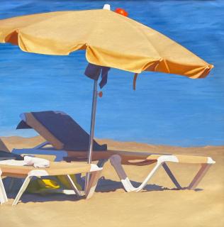 Cuasante, Sin título, óleo sobre lienzo, 114 x 114 cm., 2021