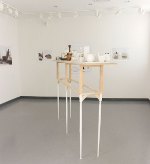 Juana Valdes // An Inherent View of the World, 2015-ongoing // Collected decorative objects made of porcelain, bone china, glass, and wood documentated as still life settings