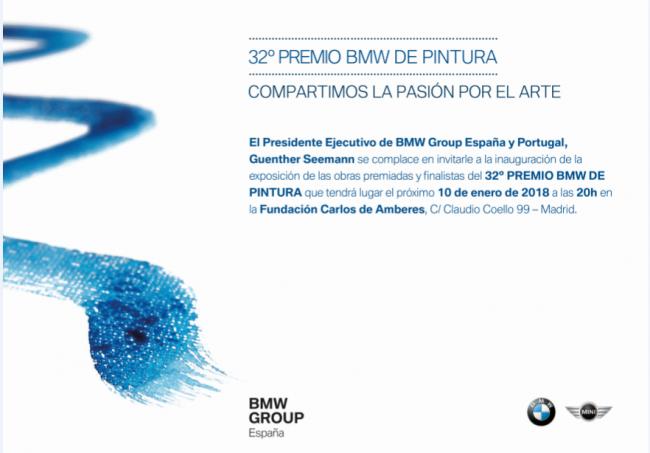 32ª edición del Premio BMW de pintura