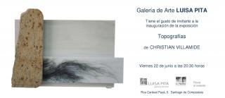 Exposición TOPOGRAFÍAS de Christian Villamide