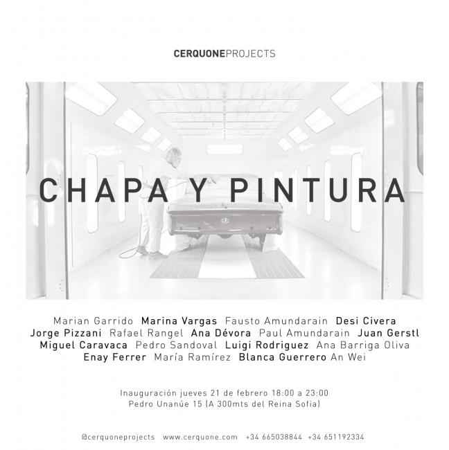 Invitación Chapa y Pintura
