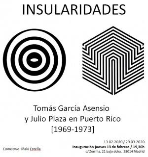 Insularidades. Tomás García Asensio y Julio en Puerto Rico (1969-1973)